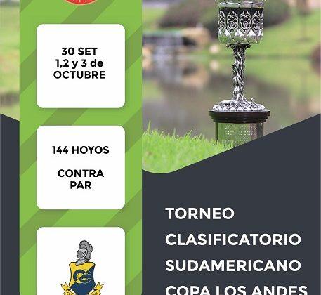 Clasificatorio para Sudamericano Copa Los Andes 2021
